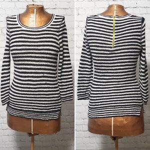 Anthro HWR Striped Sweater GUC